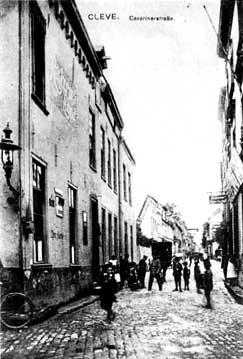 """Um 1900: Sicht von der """"Großen Straße"""""""