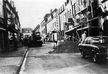 1976: Umbau zur Fußgängerzone (1)
